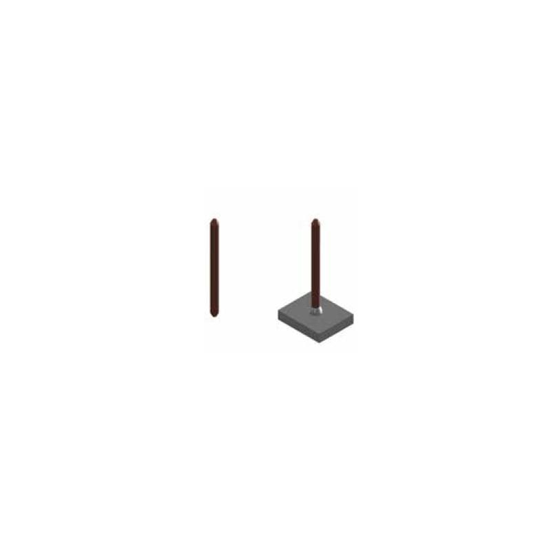 Aiguille d'isolation double pointe non normalisée