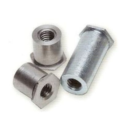 Colonnettes à sertir INOX M5x16 - 7.2 - Ouvert